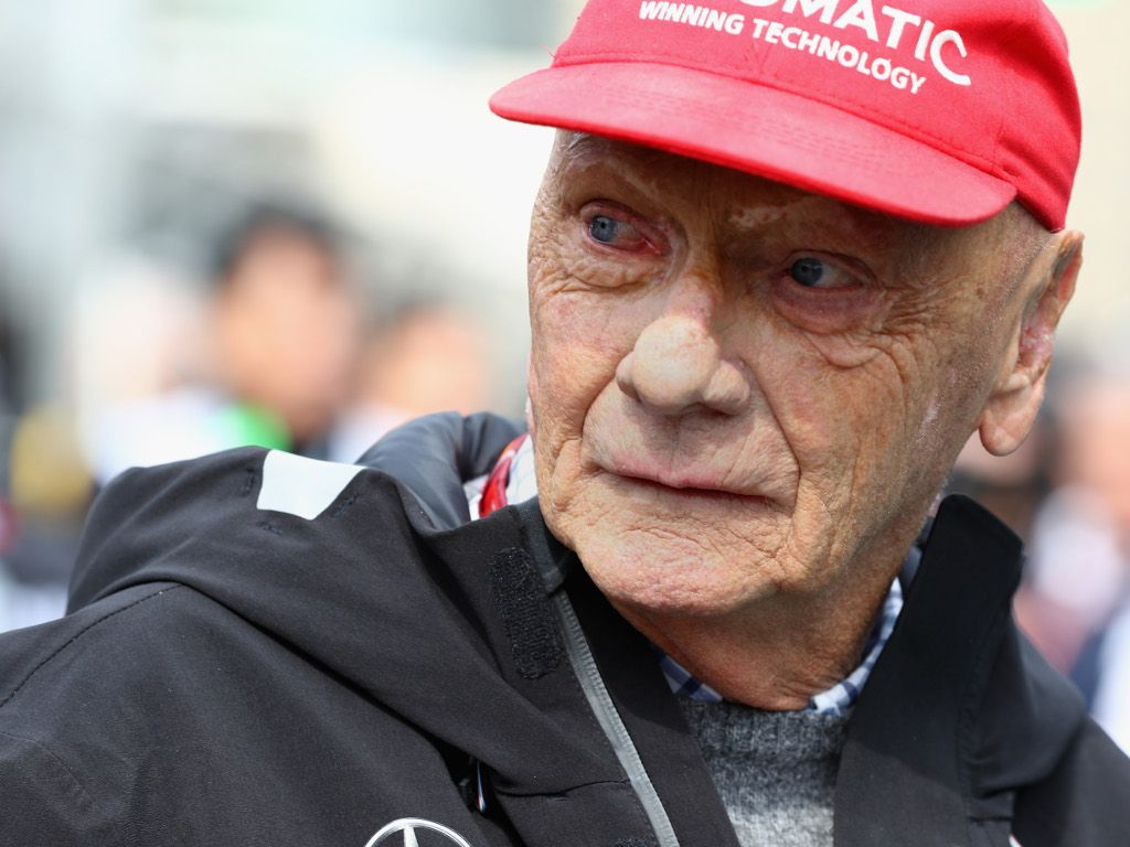 Niki Lauda's condition is improving 'continuously'