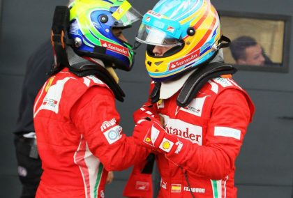Massa: Fernando Alonso is as talented as Michael Schumacher