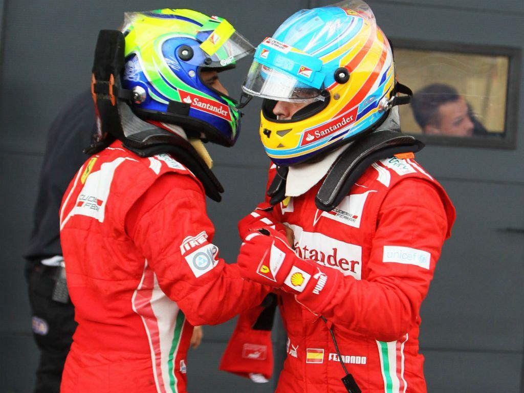 Massa: Fernando Alonso is as talented as Michael Schumacher