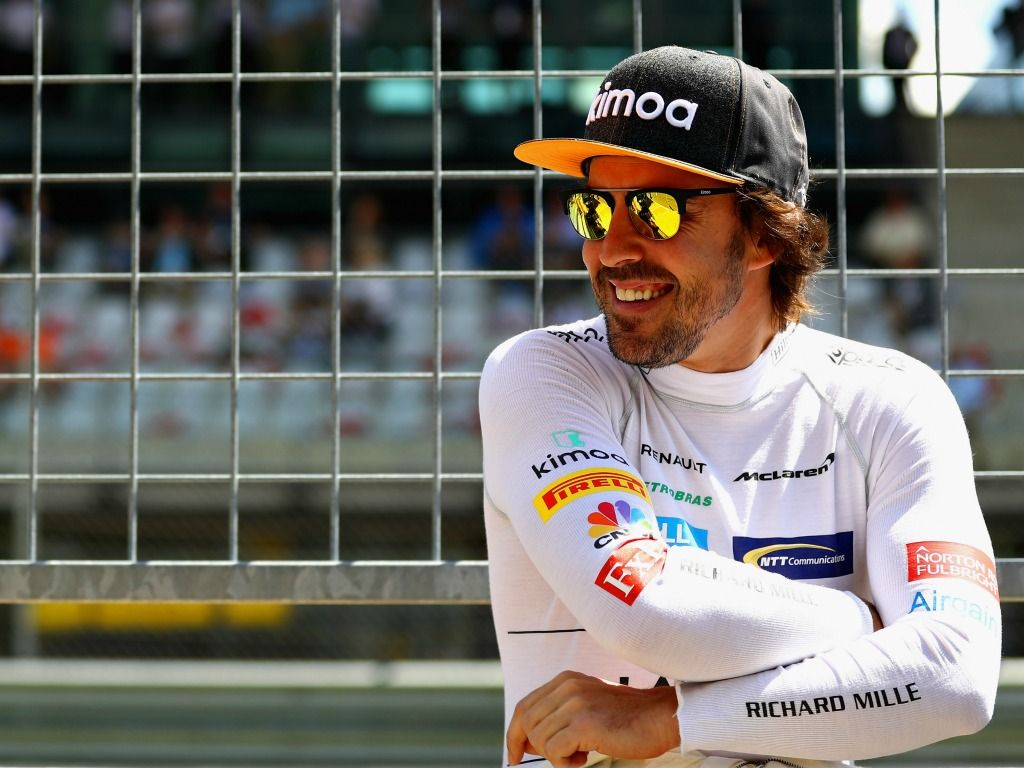 Dear F1... I love you too. From Alonso