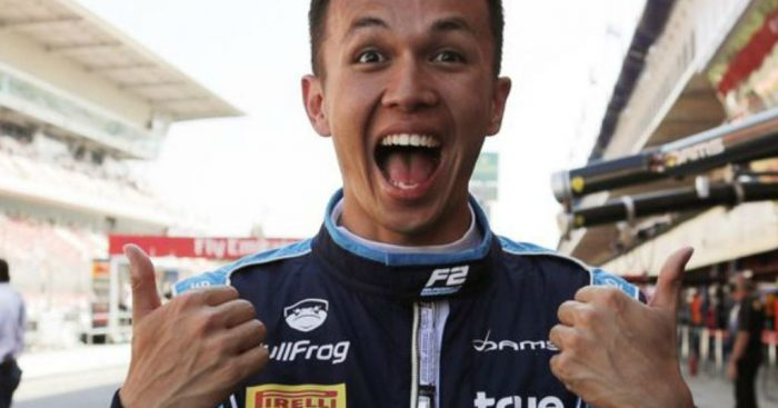 Alexander Albon: Wants Toro Rosso chance