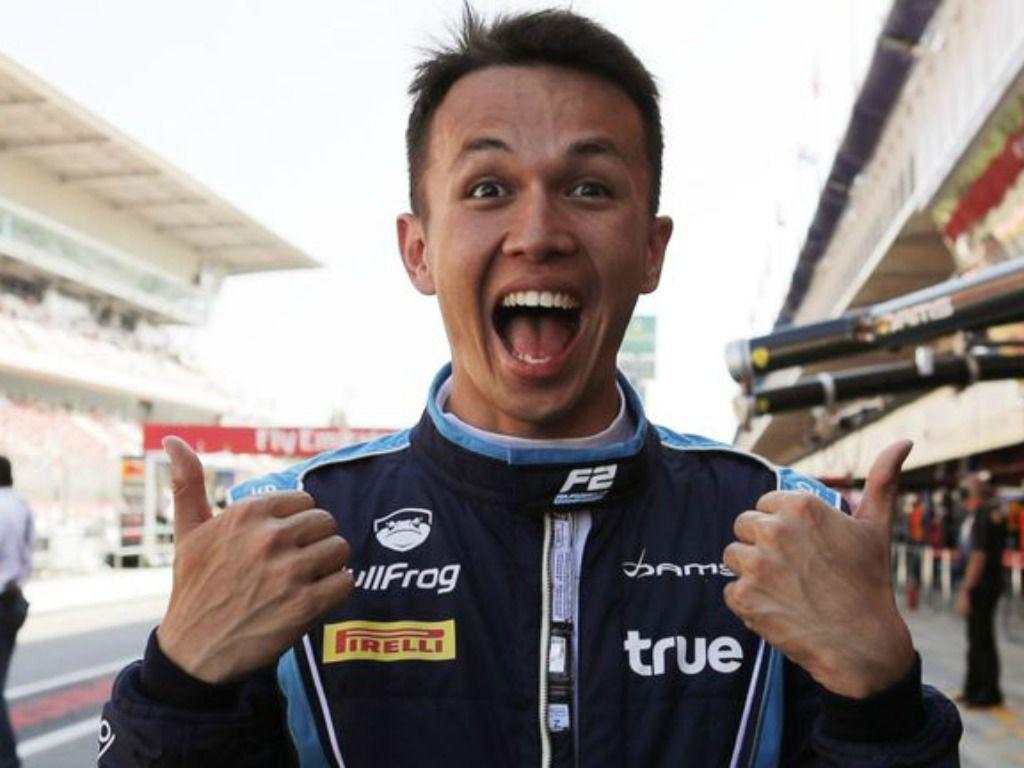 Alexander Albon: Wants Toro Rosso chance