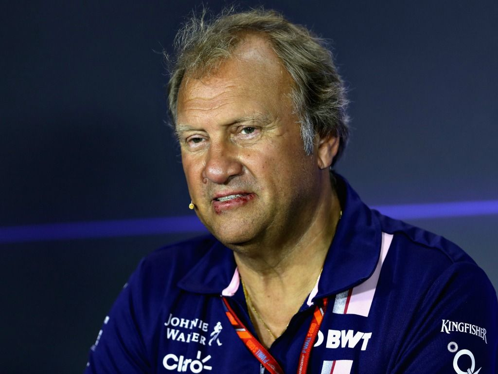 Force India: Bob Fernley out