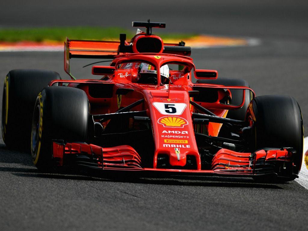 Sebastian Vettel: On top in Belgium