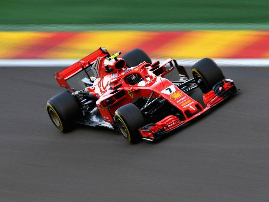 Kimi Raikkonen: Top in FP2 in Belgium