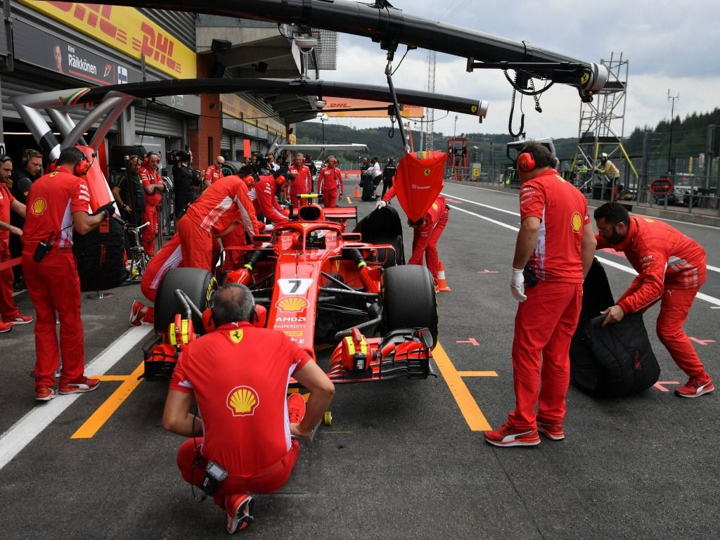 Ferrari topped both sessions on Friday
