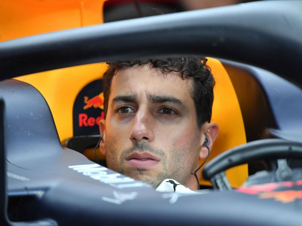 Daniel Ricciardo could only manage four laps in FP1