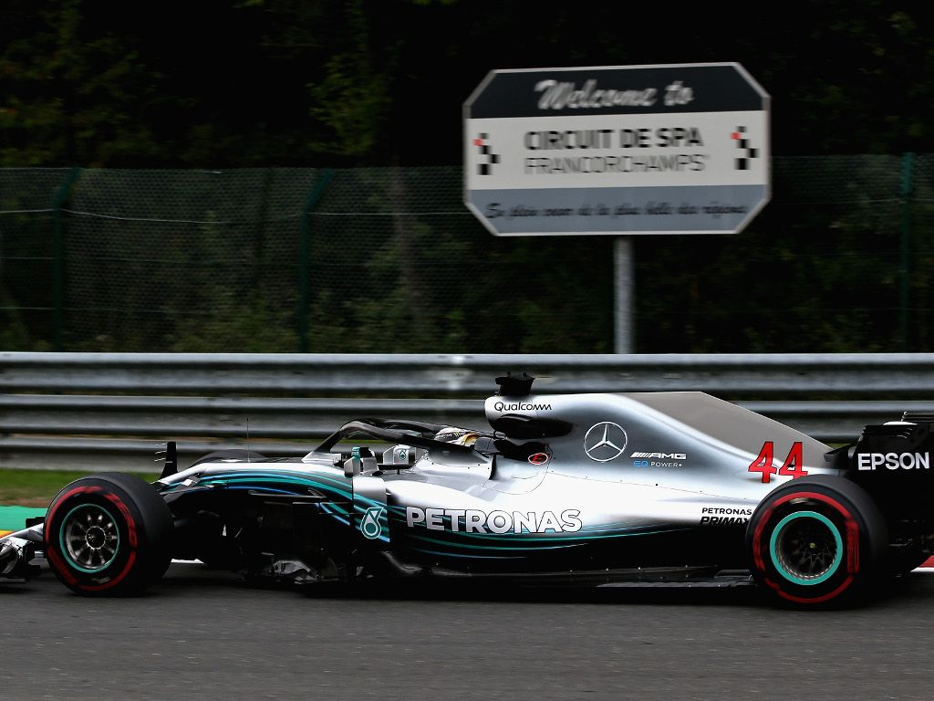 Qualy: Hamilton claims a wet pole position at Spa