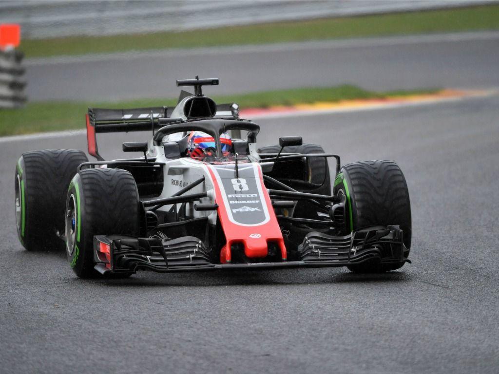 Romain Grosjean will start from P5 in Belgium