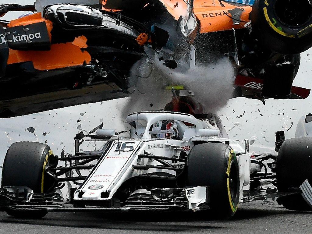 Fernando Alonso crash