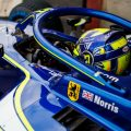 F2: Norris narrows gap