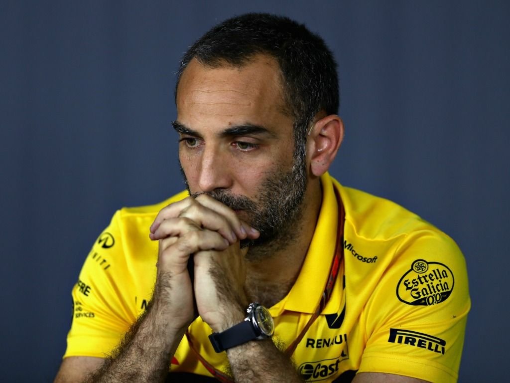 Cyril Abiteboul: Renault lucky to be ahead of Haas