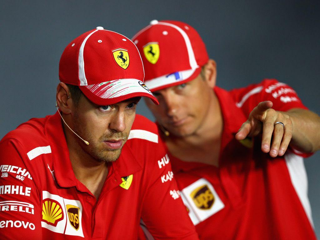 Kimi Raikkonen aims to beat Sebastian Vettel to Monza glory