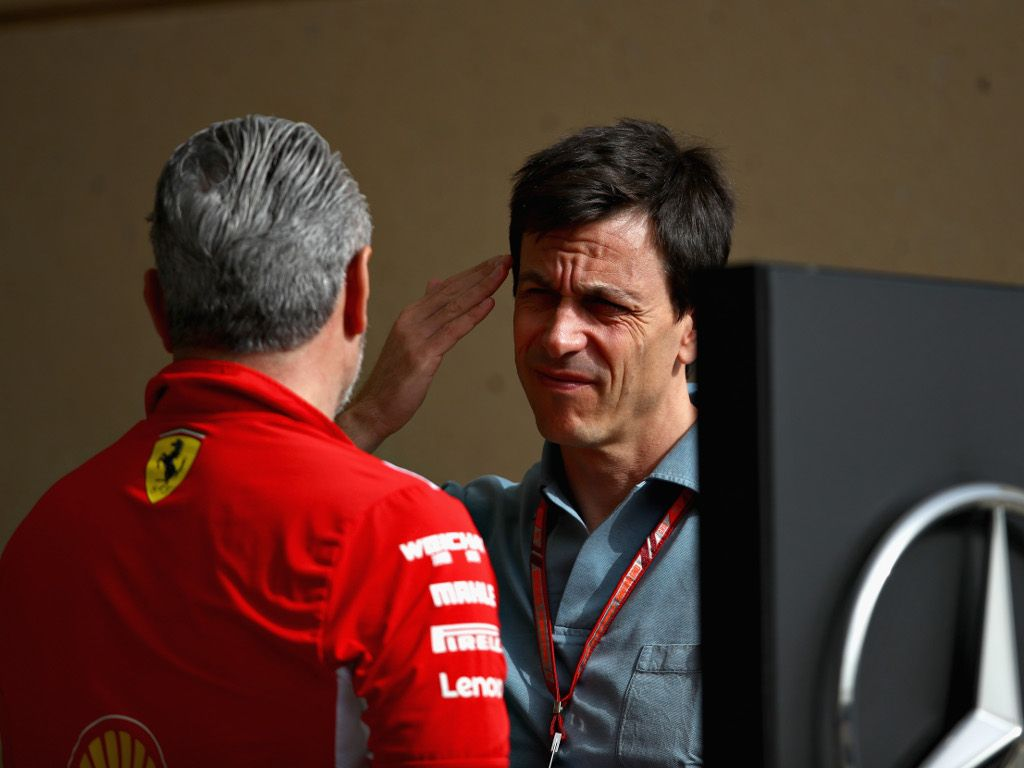Maurizio Arrivabene: Mercedes are not used to pressure