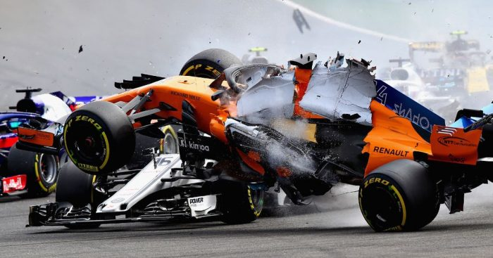 Replacement chassis for Fernando Alonso after Spa crash