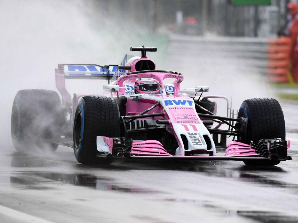 FP1: Sergio Perez quickest, problems for Sebastian Vettel