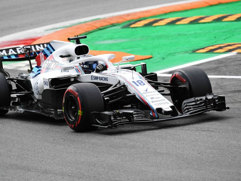 Lance Stroll finished in the points in Italy