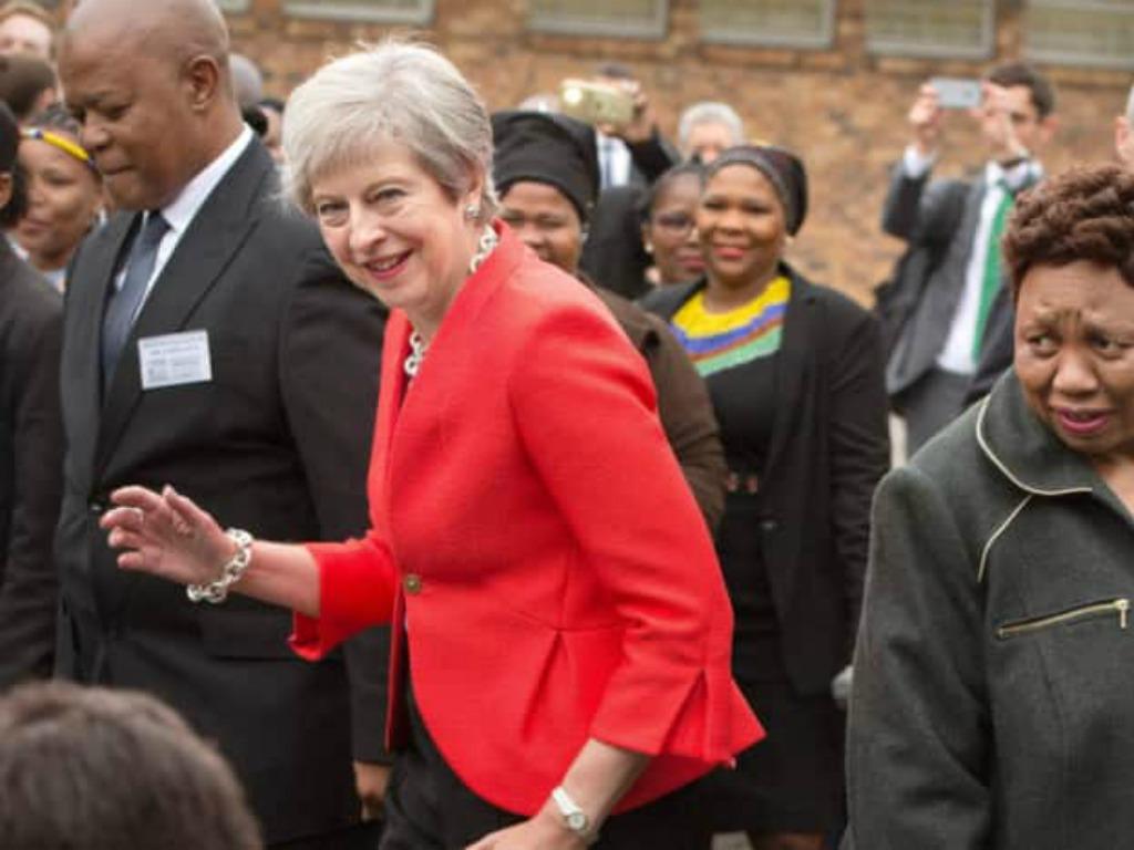 Theresa May: Massive Formula 1 fan
