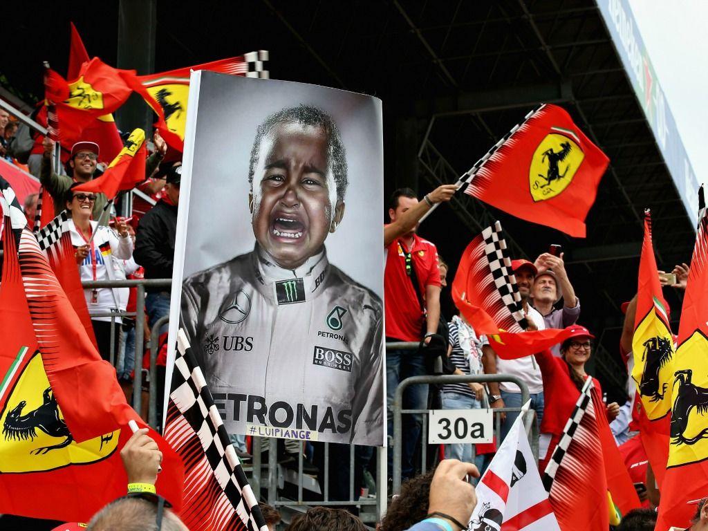 Lewis Hamilton: Booed in Monza