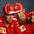Sebastian Vettel 'happy' to fight three cars