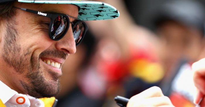 Fernando Alonso completes first IndyCar road course test