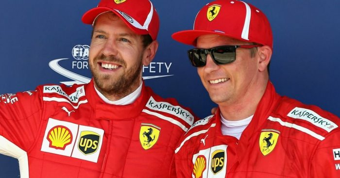 Kimi Raikkonen: 'Zero bull****' with Sebastian Vettel