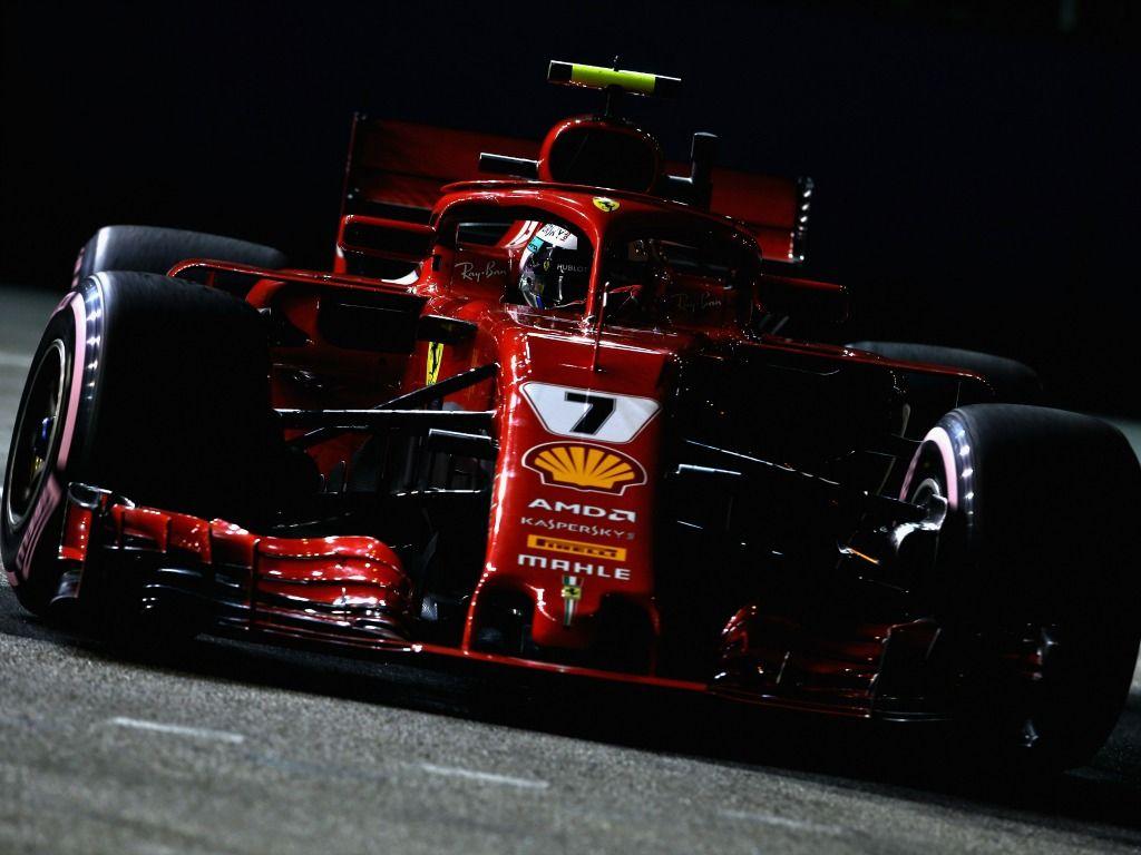Kimi Raikkonen: quickest in FP2