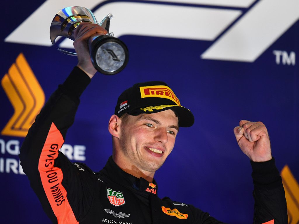 Max Verstappen concedes P2 was 'the result'