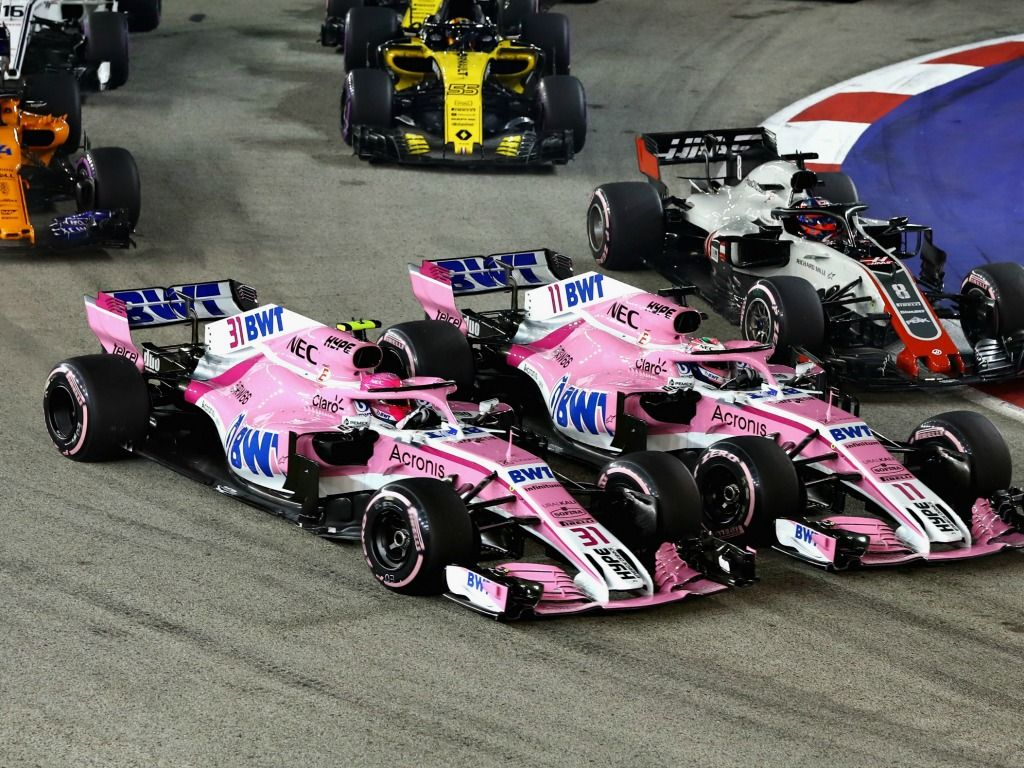 Force India: Team orders back in effect