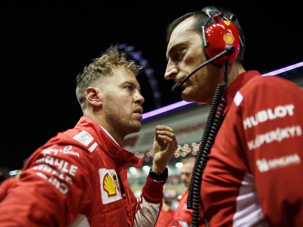 Vettel defends Ferrari's 'aggressive' strategy
