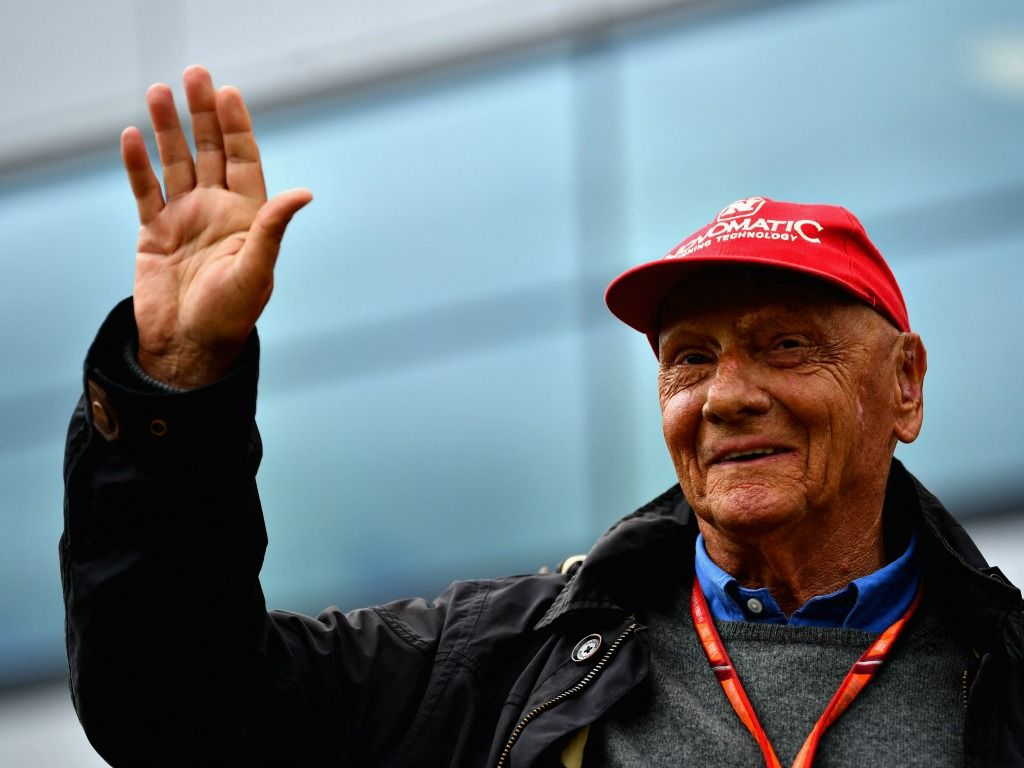 Niki Lauda: On the mend