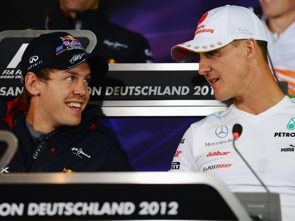 Sebastian Vettel: wants Michael Schumacher's advice