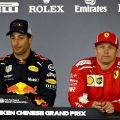 Daniel Ricciardo: toilet talk with Kimi Raikkonen