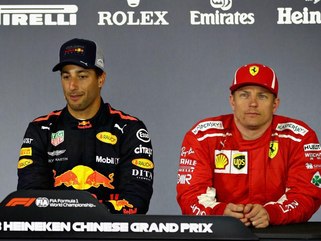 Daniel Ricciardo: toilet talk with Kimi Raikkonen
