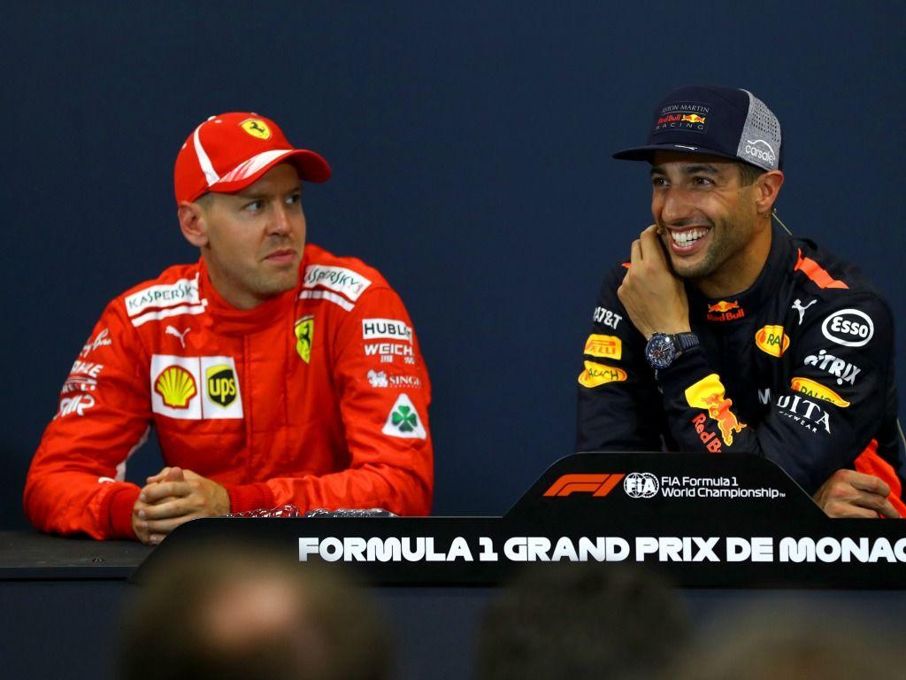 Daniel Ricciardo: Ferrari pressure on Sebastian Vettel