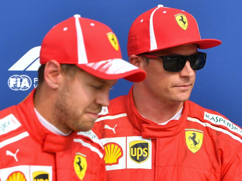 Kimi Raikkonen downplays talk of helping Sebastian Vettel