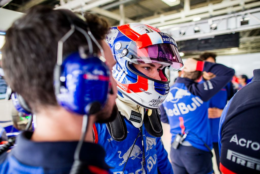 Pierre Gasly: Reprimanded in Japan