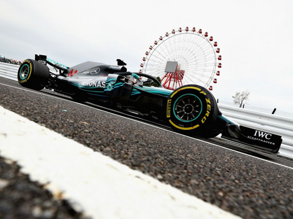 Lewis Hamilton: Fastest in FP2 in Japan