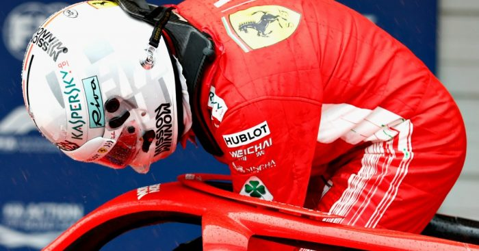 Sebastian Vettel: Ferrari issues once again