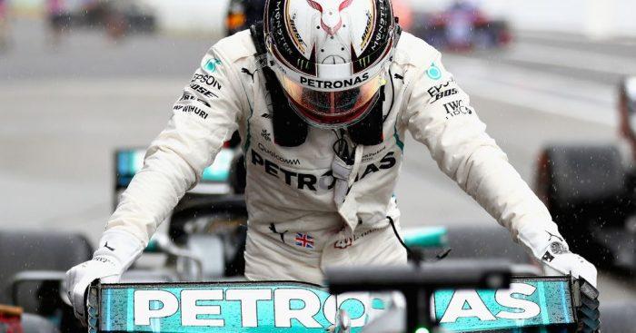 Race: Lewis Hamilton wins in Japan, Vettel implodes