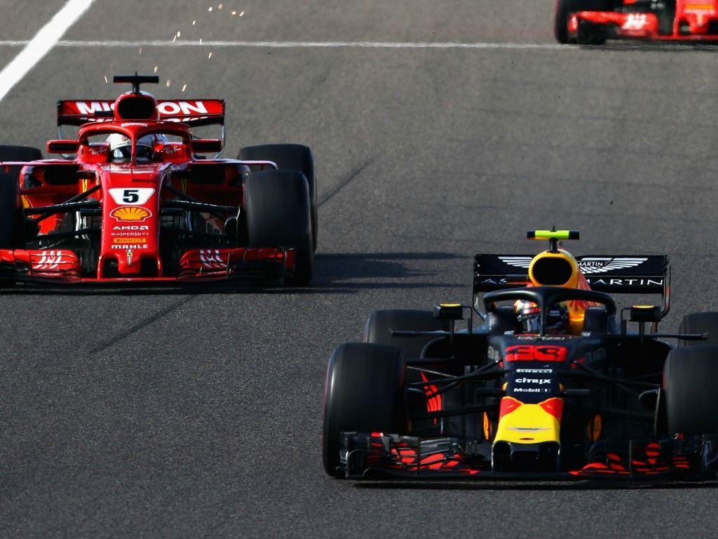 Max Verstappen: collides with Sebastian Vettel