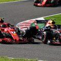 Kimi Raikkonen: I should have left Max more space