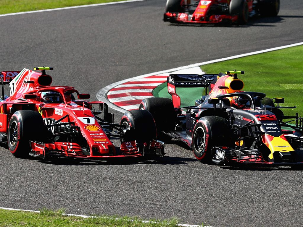Kimi Raikkonen: I should have left Max more space