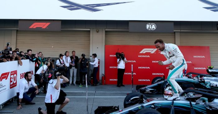 Lewis Hamilton: Ferrari drop-off was unexpected