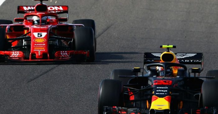 'Sebastian Vettel was optimistic, Max Verstappen was robust'
