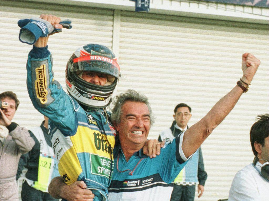 'Benetton bosses were not convinced of Michael Schumacher'