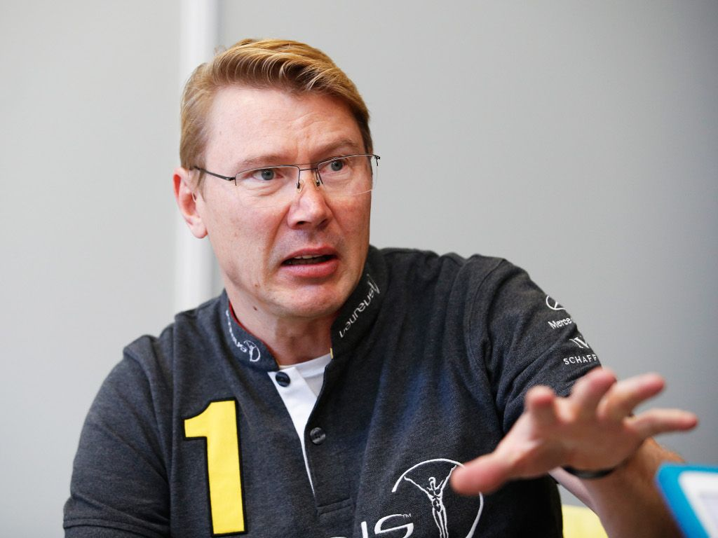 Mika Hakkinen would only return to 'kick some butt'