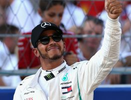 'Lewis Hamilton has shown what a class act he is'