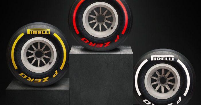 Pirelli reveal 2019's three set colours