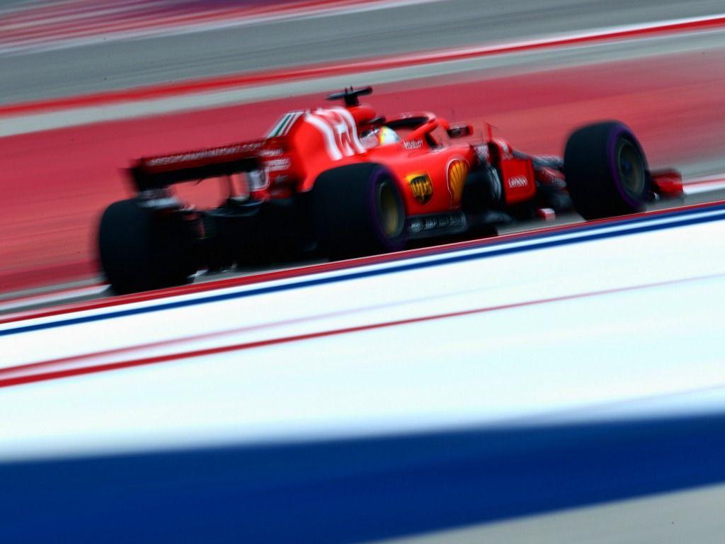 Sebastian Vettel: Quickest in FP3 in Austin